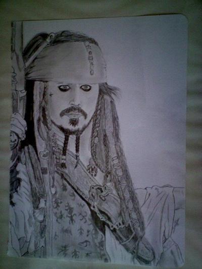Johnny Depp by MissMothe
